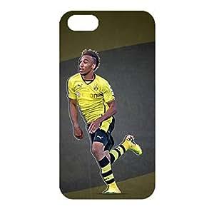Hot Sports Soccer Pierre Emerick Aubameyang BVB09 Borussia Dortmund Cell Phone Case for Iphone 4/4s Bundesliga 3D Fashion Unique BVB Protective Case
