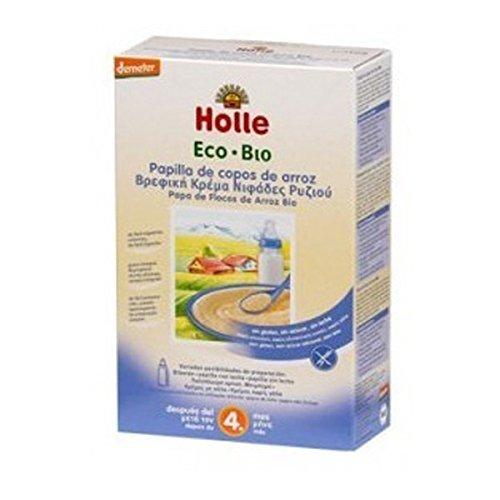 Holle Papilla de Crema Arroz (+ 4 meses) - 250 gr: Amazon.es: Alimentación y bebidas