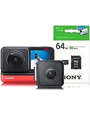 insta360 CINAKGP/AUK2 Action-Kamera, Schwarz, Standard