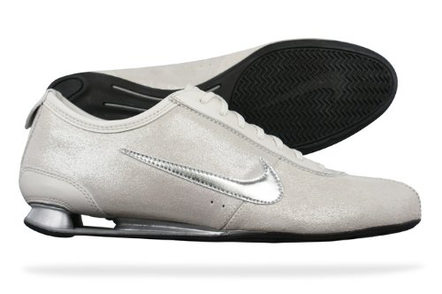 NIKE Shox Rivalry Womens Running TrainersShoes - Off White