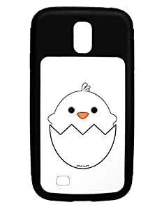 TooLoud Cute Hatching Chick - White Galaxy S4 Case