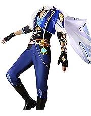 Genshin Impact Ningguang Cosplay Kostuum Game Figuur Ningguang Cosplay Uniform Outfit Halloween Carnaval Party Cosplay Kostuum Volledige Set voor Vrouwen Mannen