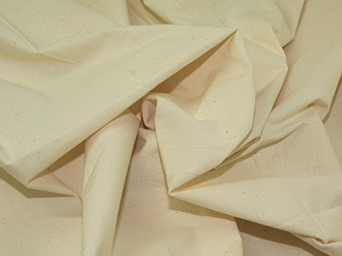 Best Quality Heavy Weight Calico Fabric Cream - per metre Minerva Crafts