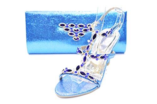 amp; Walk UK SAN1016 R Blue Wear Pochettes Fille zdApd