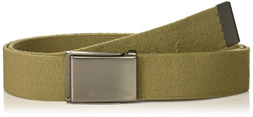 Columbia Men's Military Style Stretch Belt, olive, 1siz
