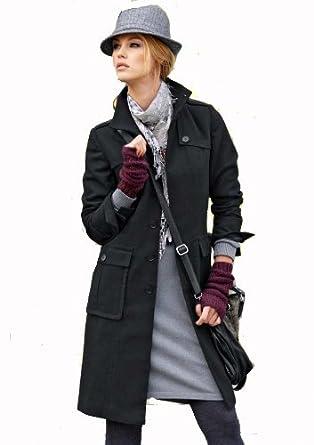 f5fc91f3163 Aniston Damen-Mantel Wollmantel
