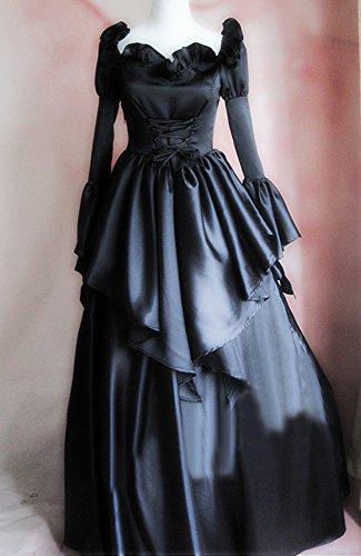 [Onecos Code Geass C.C. Black Dress Cosplay Costume] (Cc Code Geass Costumes)