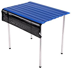 camp time narrow roll a table fold up roll out table top compact portable usa. Black Bedroom Furniture Sets. Home Design Ideas