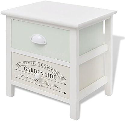 Luckyfu - Mesita de Noche de diseño Moderno para Muebles ...