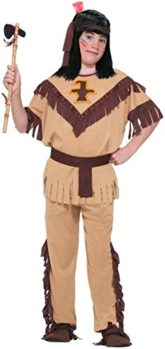 [Forum Novelties Native American Brave Costume, Child's Medium] (8 People Costumes)
