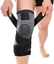 Knee Sleeve, Knee Pads Compression Fit Support -for Joint Pain and Arthritis Relief, Improved Circulation Comp