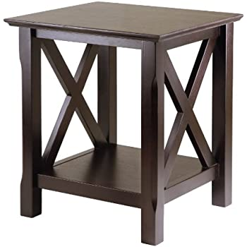 this item winsome wood end table dark tables and chairs for rent restaurants