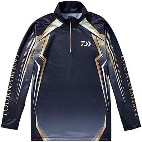 ダイワ(DAIWA) トーナメント ドライシャツ DE-77008T ブラック L