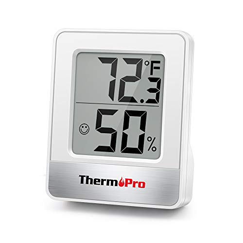 ThermoPro TP49 Digital Hygrometer Indoor Thermometer Humidity Meter Room Thermometer