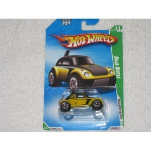 Hot Wheels 2010 Treasure Hunts Baja Beetle VW Volkswagen Bug Yellow (Volkswagen Bug Baja)