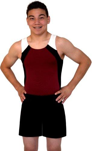 Boys and Mens Gymnastics Longer Shorts - Variety of Colors