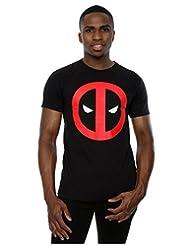 Marvel Men's Deadpool Clean Logo T-Shirt