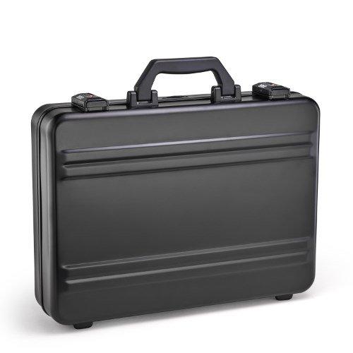 [ゼロハリバートン] ZEROHALLIBURTON P-シリーズ アタッシェケース/Premier Standard Aluminum Attaché [並行輸入品] B07FYYS85F ブラック ブラック