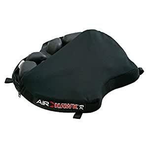 Airhawk R Seat Cushion With Cover 14 Inch Deep X 15.25 Inch Wide Black
