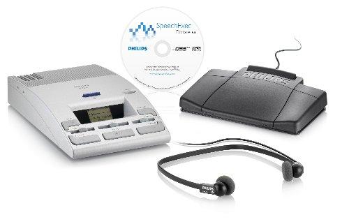PSPLFH975010C - Philips 9750 Digital Desktop Transcriber/Dictation (Philips Microphone Earphone)
