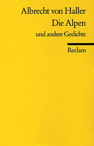 die-alpen-u-a-gedichte-reclams-universal-bibliothek