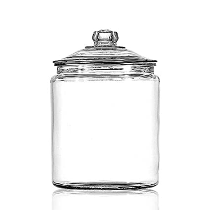 Amazon Com Anchor Hocking 1 Gallon Heritage Hill Jar Kitchen Dining