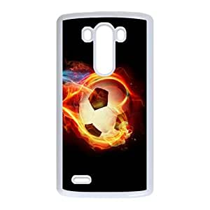 Football LG G3 Cell Phone Case White JD7679146