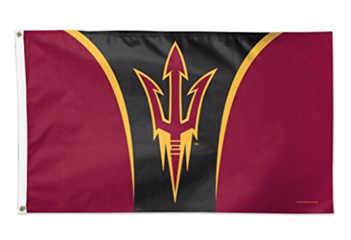 NCAA Arizona State University ASU Sun Devils Deluxe 3'x5' Premium Fabric Flag with Grommets
