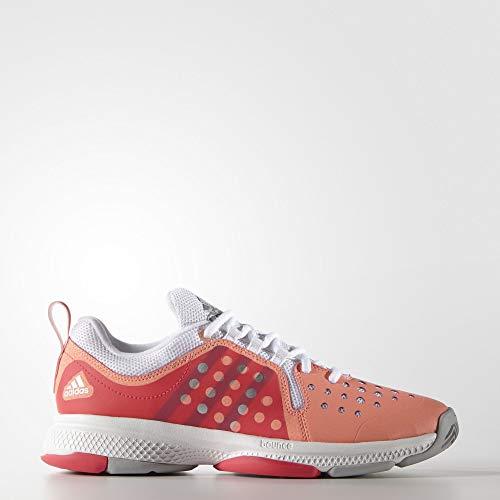 adidas Performance Women's Barricade Classic Bounce W Training Footwear,Sun Glow Yellow/Metallic...