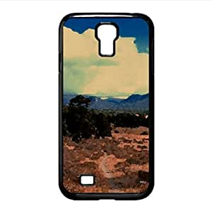 Nature Beauty 1 Watercolor style Cover Samsung Galaxy S4 I9500 Case (Landscape Watercolor style Cover Samsung Galaxy S4 I9500 Case)