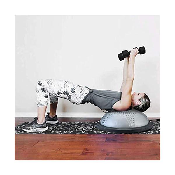 NORDERBRØ - Balance Ball, Palla Fitness per Training PRO con Cinghie Laterali, Pilates, Stabilità, Allenamento… 6 spesavip