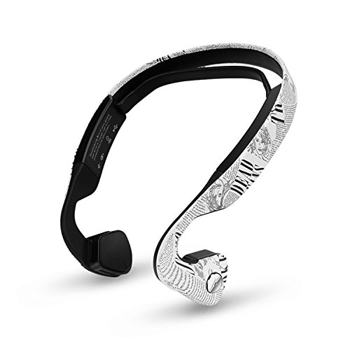Bone Conduction Headphones by oannao, Sweatproof, Sport,Safe, Wireless Bluetooth Earphones with Mic,for Drivers,Outdoor Cyclist and Elderly People with Hearing Impairment - Sunglasses Zungle