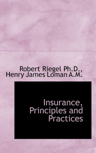 Download Insurance, Principles and Practices Pdf