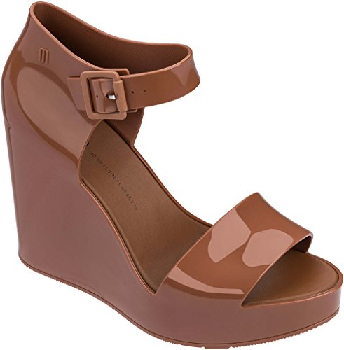 Melissa MAR Wedge Brown Almond cheap for cheap newest discount for cheap outlet sale JgaH7s0YPw