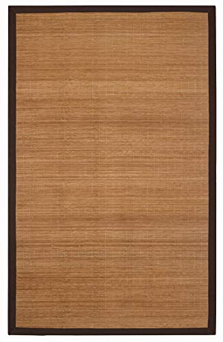 Anji Mountain Eco Friendly Digs Villager Natural Bamboo Rug (4'x6') ()