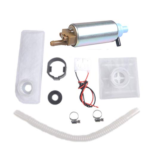PLDDE New 1pc Electric Gas Intank EFI Fuel Pump With Filter+Clamp+Rubber Hose+Gakset+Wiring Plug Fit Dodge Intrepid Dakota Durango Ram B-Series Van Chrysler 300M Concorde LHS New Yorker Eagle Vision