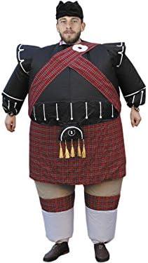 DISONIL Disfraz Hinchable Escocés: Amazon.es: Juguetes y juegos
