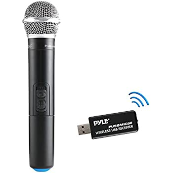 fifine uhf dynamic vocal microphone selectable frequencies wireless microphone with. Black Bedroom Furniture Sets. Home Design Ideas