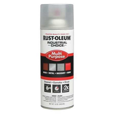 Spray Paint, Crystal Clear, 12 oz. (Rust Oleum Crystal Clear Enamel)