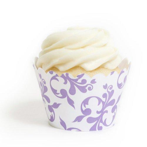 Dress My Cupcake Lavender Filigree