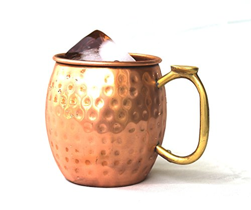 STREET CRAFT Handmade Pure Copper Moscow Mule Mug