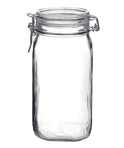 Bormioli Rocco Fido Glass Canning Jar Italian - 1.5 Liter