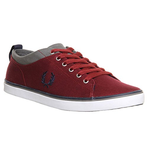 Fred Perry Hallam Twill - - Hombre Maroon
