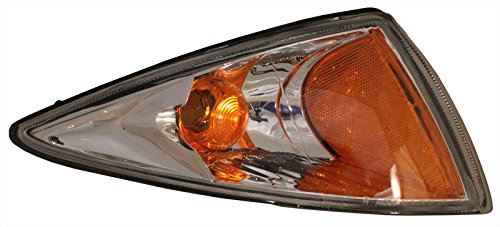 0-02 Side Marker Light - Right Lamp Lens & Housing ()