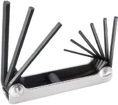 092644332678 - Klein Tools 70591 Nine-Key Inch Folding Hex-Key Set carousel main 1