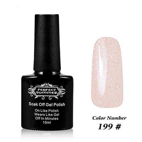Perfect Summer UV LED Soak Off Gel Nail Polish 10ml, Hologra