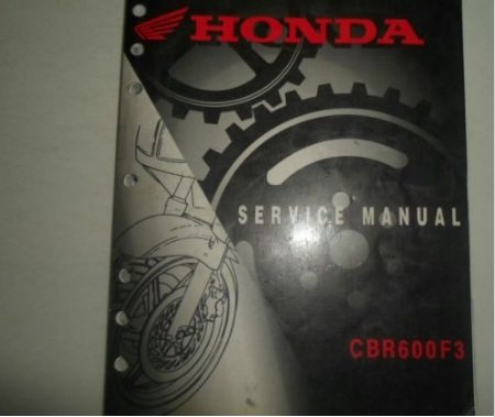 1999 2000 HONDA CBR600F4 CBR 600 F 4 Service Repair Shop Manual BRAND NEW (Cbr600f4 Engine Honda)
