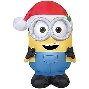 Amazon.com: Gemmy Christmas Inflatable Minion Bob, 3.5 Feet: Home ...
