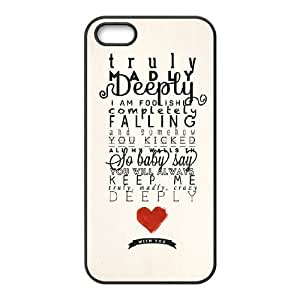 One Direction Little Things Case for Iphone 5,5S,diy One Direction Little Things case