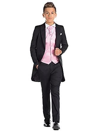 Paisley of London, De Niño Negro Traje De Cola, de niño Traje de día, Página niño traje, 12-18 meses - 13 años